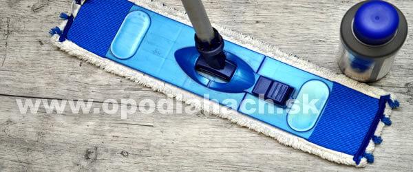 čistenie a údržba vinylovej podlahy