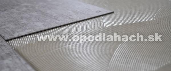 Montáž vinylovej podlahy lepením