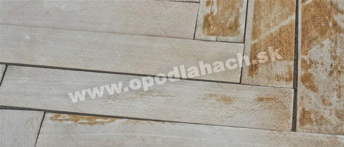 našpárované drevené parkety