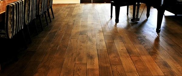 Olejovaná drevená podlaha