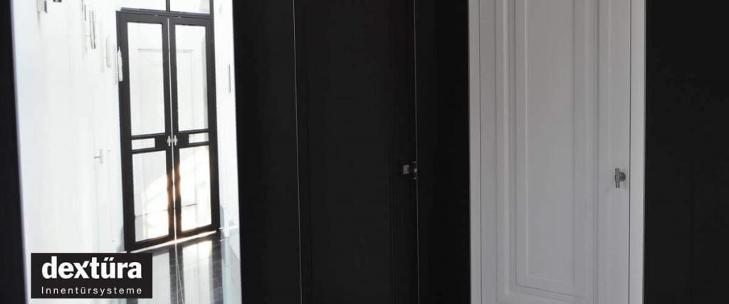 Odolné biele dvere DEXTURA