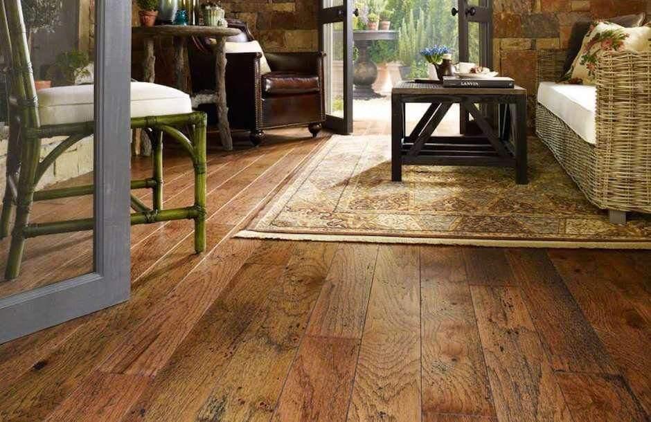 Opaľované drevené podlahy