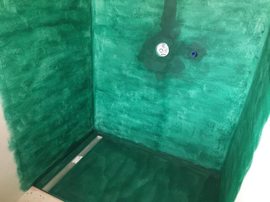 Hydroizolacia v sprchovom kúte