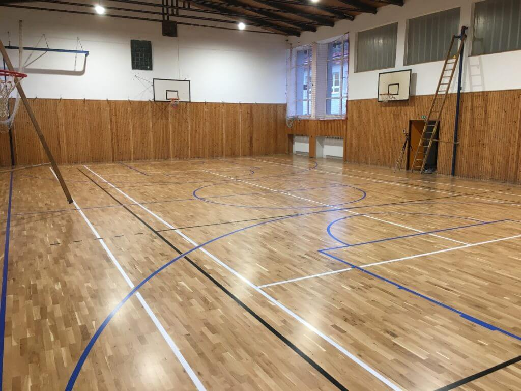 Športové podlahy - rekonštrukcia športových podláh